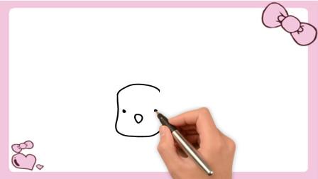 卡通小狗怎么画