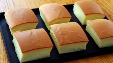 网红古早蛋糕做法:配方比例无保留,细腻绵软,不用出去排队买了