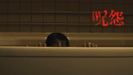恐怖片美版《新咒怨》伽椰子的驻美办事处 以后传播诅咒就方便多了 佐伯俊雄也有了传人