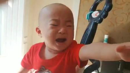 萌娃系列:瞧我哭了吧!