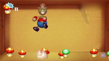 踢巴迪游戏:让木偶人玩蘑菇游戏,看着好好玩的样子!