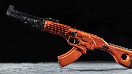 科幻的TKB-022突击步枪,来自苏联设计师之作,开创塑料无托步枪先河
