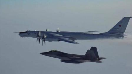 美军核潜艇都藏哪了?俄军反潜机疯狂出动,F35和F22紧急拦截
