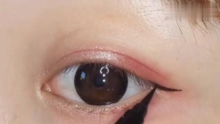 顶尖化妆师最爱眼妆,实用又百搭,画法巨简单,好看到飞起