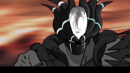 《动漫战争》第13集片段二,全魔使出顶级自在极意功