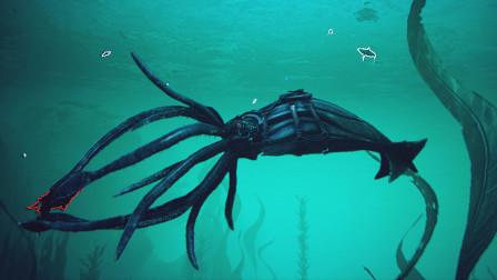 【虾米】方舟:创世纪EP7,深海中的庞然巨兽,托斯特巨鱿!