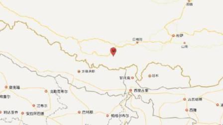 日喀则市定日县发生5.9级地震,震源深度10千米
