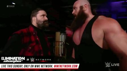 WWE:黑羊以一敌四丝毫不落下风,残暴打法让对手闻风丧胆!