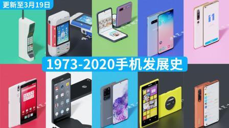 1973-2020年手机发展史(更新至3月19日)