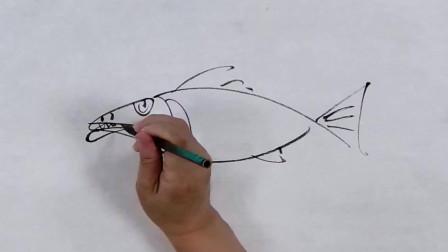国画教程:写意鱼的画法