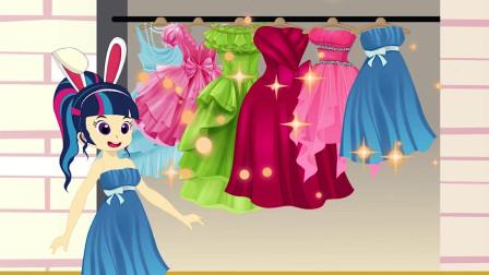 女孩去买衣服,把店里的公主裙试了一遍后,却只买了最便宜的睡衣?