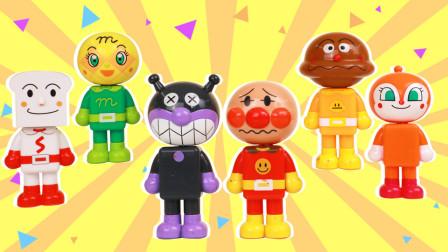 面包超人之吸铁石人偶的玩具套装