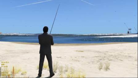 GTA5: 麦克在这里能钓到鱼吗?
