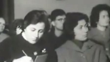 历史回放 66年阿尔巴尼亚歌舞团在广州 参观农民运动讲习所