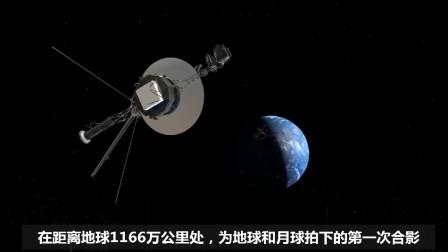 在太阳系的边缘,旅行者号拍下了这张照片,无法相信地球会是这样