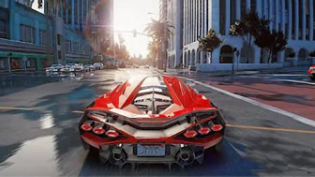 GTA5豪华炫酷跑车真实世界最高画质MOD