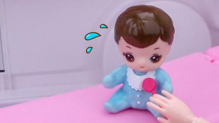 芭比剧场:可爱的小宝宝为什么不会说话了?妈妈:都怪我