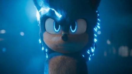 《刺猬索尼克》真人版:一只蓝刺猬速度快到无法想象,堪比闪电侠
