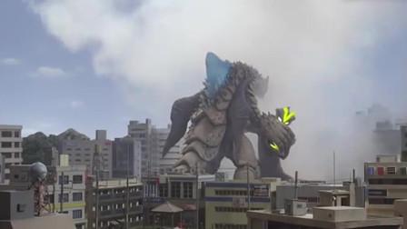 银河奥特曼:怪兽攻击向奥特曼,谢帕顿帮助他抵消攻击!