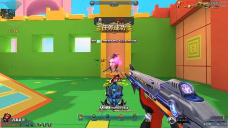 生死狙击无名:没想到虚空折跃这个枪这么稳!打到对面崩溃