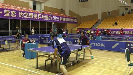 中成组8进4  金色四季(王宏伟) vs 商务联队(徐进义) 2019年第十五届STIGA杯全国乒乓球巡回赛(北京赛区)