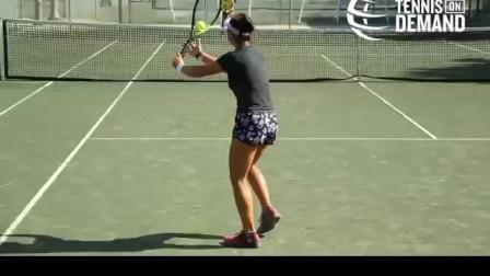 随球上网战术练习