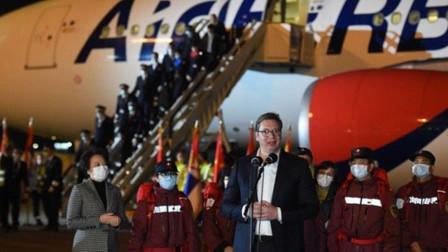 塞尔维亚总统:中国向我们展示了什么是患难之交 塞人民永远不会忘记这份恩情