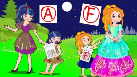 紫悦和碧琪最终还是买了蛋糕给艾达琪过生日 小马国女孩游戏