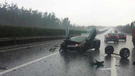 男子在高速老实开着车,下一秒悲剧却还是发生,监控记录死亡瞬间