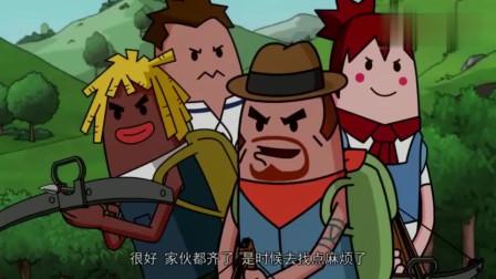 搞笑痴鸡小队:霸哥霸气展示什么是真正的技术流了,牛操作搞笑。