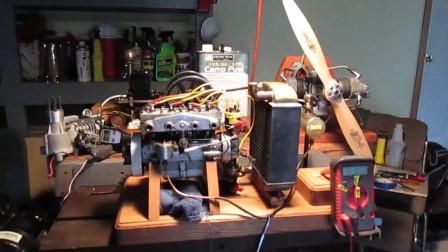 老外这套机械构造,没半个小时都弄不明是怎么个原理