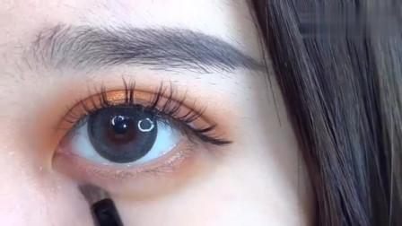 大眼妆教学,你们会学会了吗?