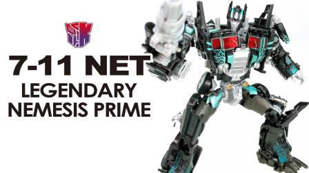 KL变形金钢玩具分享487 日本7-11 NET限定 报应至尊 Japan 7-11 NET Exclusive NEMESIS PRIME