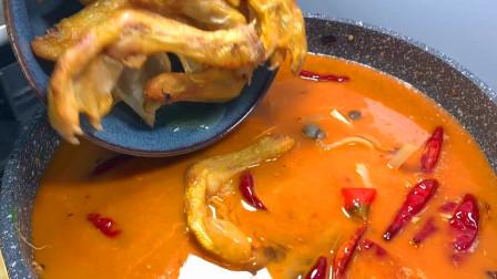 """广西柳州的""""鸭脚螺丝包""""为什么这么火?大厨教你做,比饭店里香"""