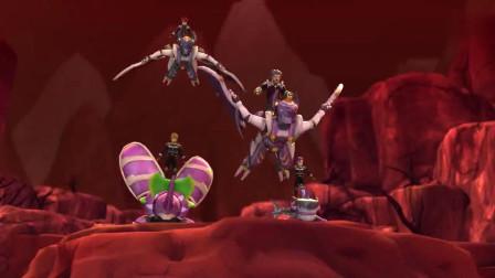 星兽猎人:暗亡魔龙带上恶兽,竟要攻打圣兽山,情况不妙