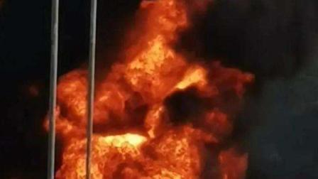 #突发#深圳沙井一辆装载95号汽油油罐车着火 #资讯同享
