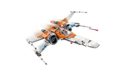 LEGO乐高积木玩具星球大战系列75273X翼战斗机套装速拼