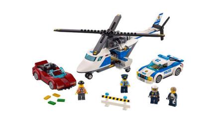 LEGO乐高积木玩具城市系列60138高速追捕套装速拼
