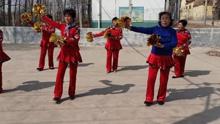 2020年济南市莱芜区柳龙崮村夕阳广场舞