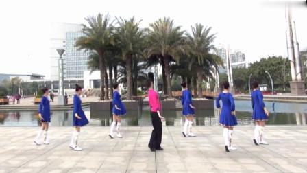 广场舞《梦中的玛纳斯》正背面演示加分解动作教学