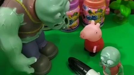 小鬼想要一个妈妈,让佩奇给她画一个妈妈,巨人僵尸想让他变成真的