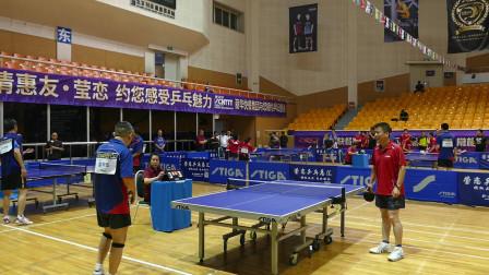 中成组8进4  金色四季(张红勇) vs 商务联队(赵明华) 2019年第十五届STIGA杯全国乒乓球巡回赛(北京赛区)
