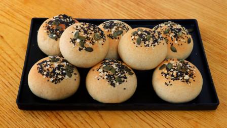 网红谷物全麦面包:纯发酵配方,麦香浓郁越嚼越香,不用出去买了