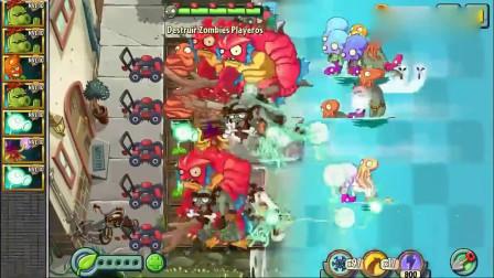 《植物大战》:能轻松击溃一波又一波怪物boos大军,无敌的植物组合攻防兼备!