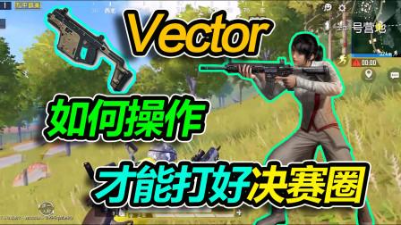 吃鸡挑战:只用Vector吃鸡,如何操作才能打好决赛圈
