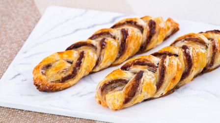 香酥美味的辫子酥,用手抓饼就能做哦!