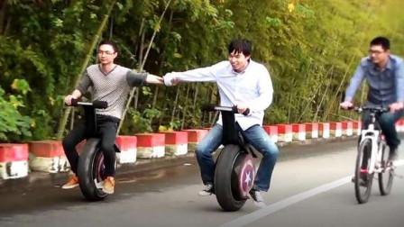 """小伙发明""""独轮""""摩托车!富商2700万美金收购专利,老外们抢着买"""