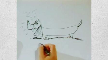 萌萌哒的小动物简笔画,快给孩子收藏吧