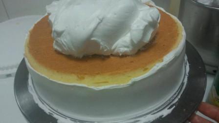 生日蛋糕不用出去买了,教你在家自制蛋糕,教程详细,比买的还好