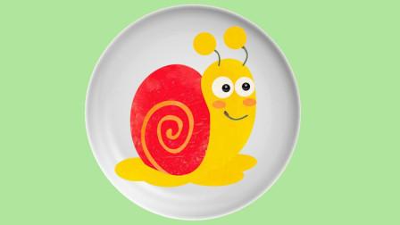 水果拼盘 蜗牛